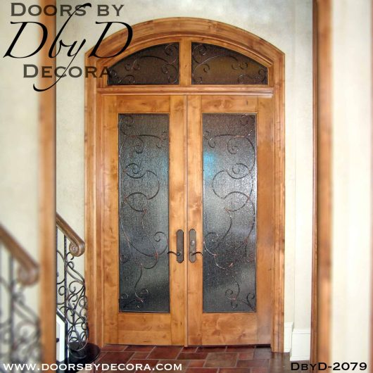 french country full lite double doors