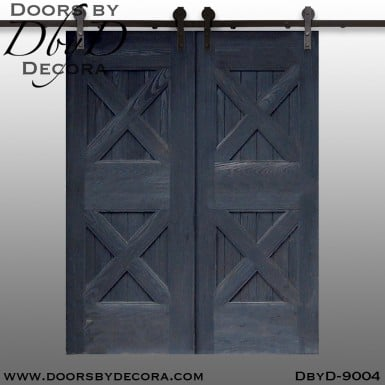 specialty cross buck double barn doors