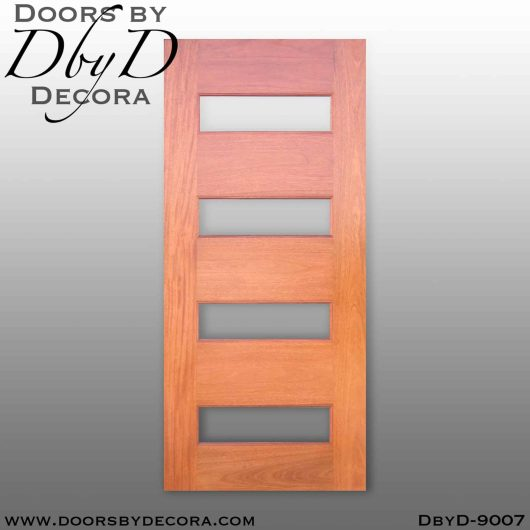 specialty 4-lite interior barn door
