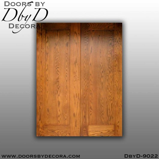 specialty flat panel double barn doors