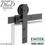 emtek rectangular barn door hardware