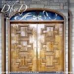 modern solid panel front doors
