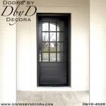 divided lite wood door