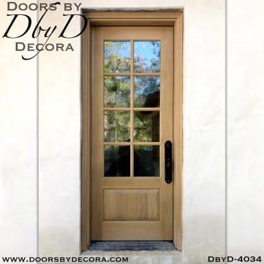 divided lite 8-lite tdl door