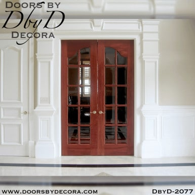 french country colonial interior doors