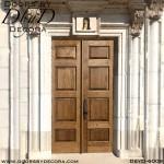 commercial museum wood doors