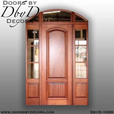 divided lite segment top exterior entry
