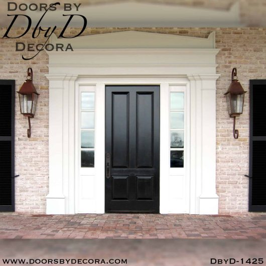 divided lite colonial front entry