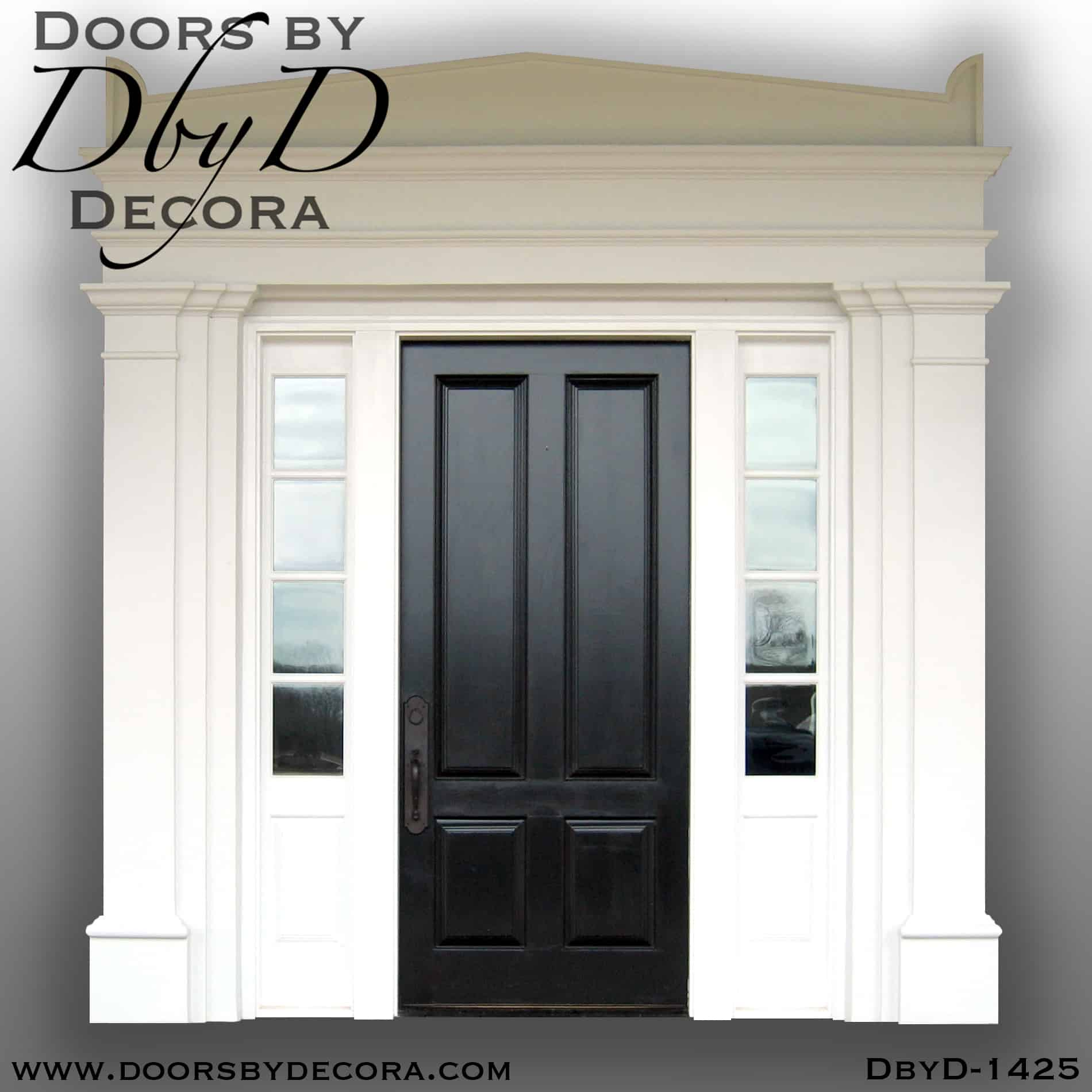 Custom Divided Lite Colonial Front Entry Wood Door Doors By Decora