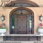solid door traditional exterior entry