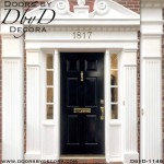 solid door traditional 6-panel custom door