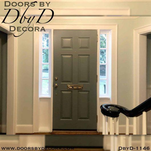 solid door traditional 6-panel