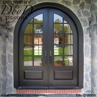 divided lite radius TDL doors