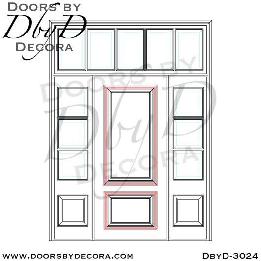 divided lite tdl door