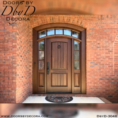 divided lite door with transom