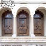 leaded glass speakeasy door