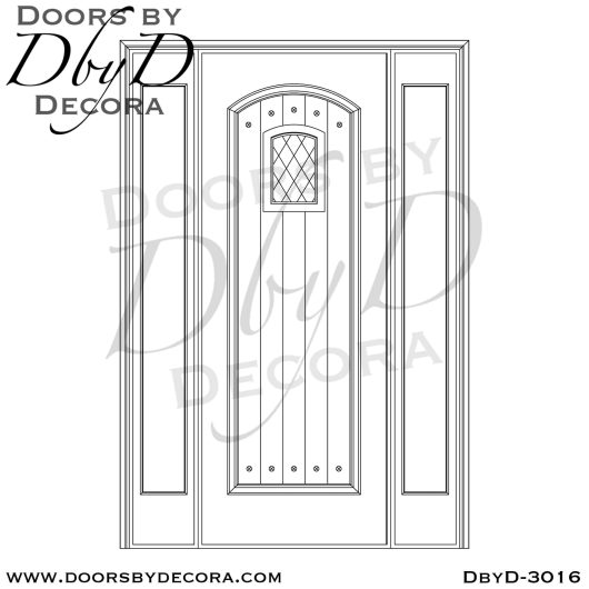 leaded glass speakeasy entry
