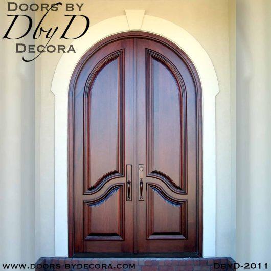 solid door radius doors