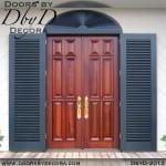 solid door 6-panel doors