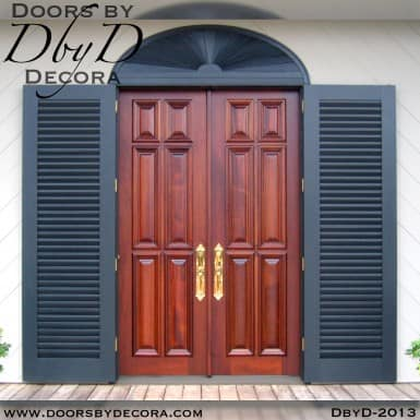 solid door 6-panel doors