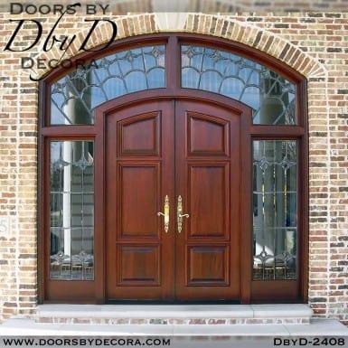 solid door doors sidelites and transom