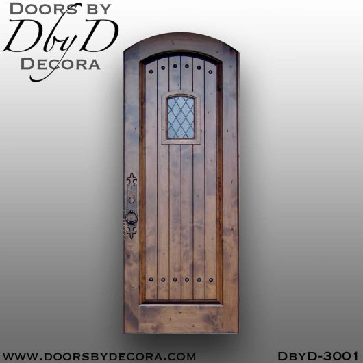 solid door speakeasy door