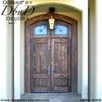 solid door distressed doors