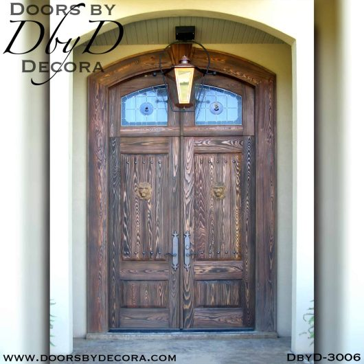solid door distressed doors