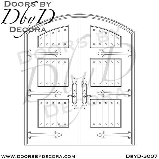 solid door barn style doors