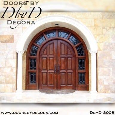 solid door grand entry