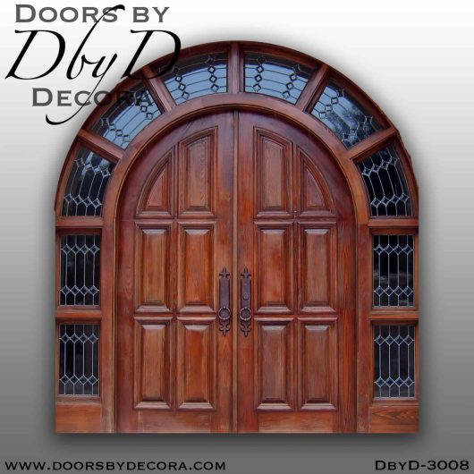 solid door grand entry