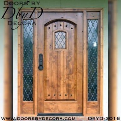 solid door speakeasy entry