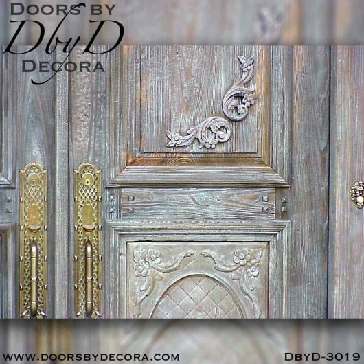 solid door tuscan style door