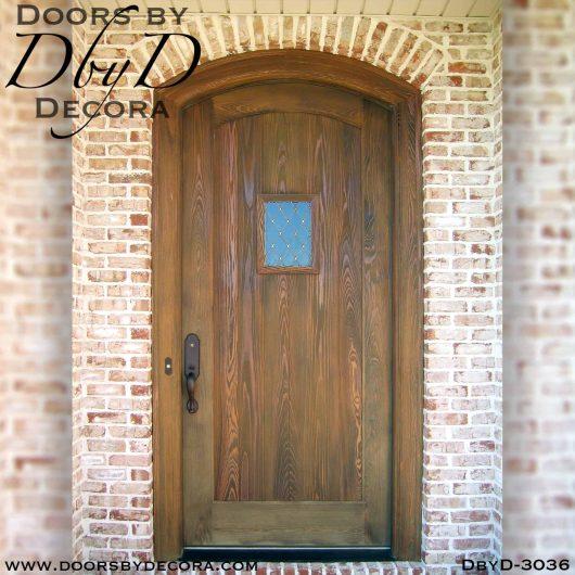 solid door distressed speakeasy