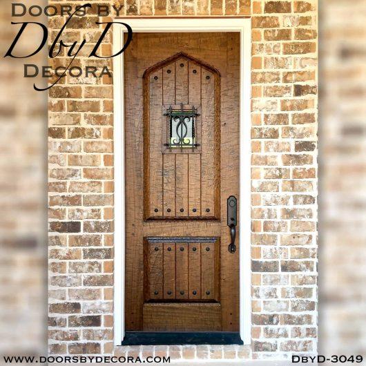solid door hand distressed door