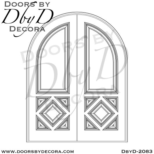 french country custom panel doors