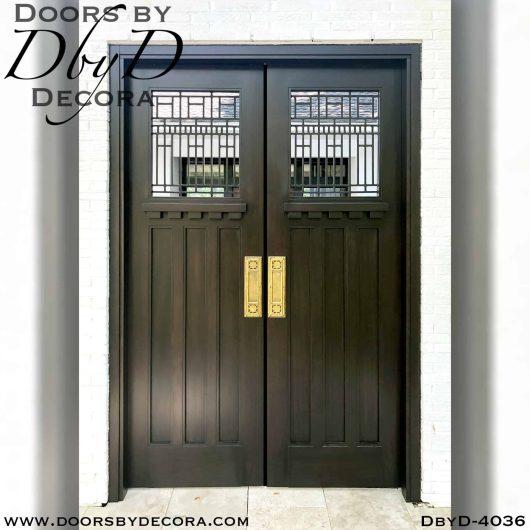 craftsman iron grill door