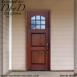 divided lite two panel tdl door