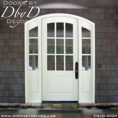 divided lite segment top door unit