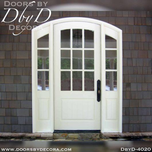 divided lite segment top door unit