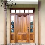 divided lite four panel door