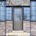 divided lite twelve lite custom door