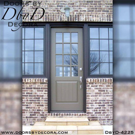 divided lite twelve lite custom door