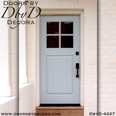 divided lite custom four lite door