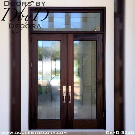 leaded glass front doors