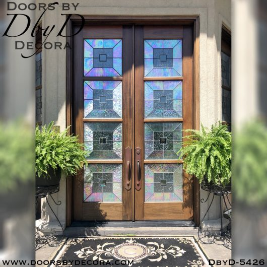 leaded glass front entry doors