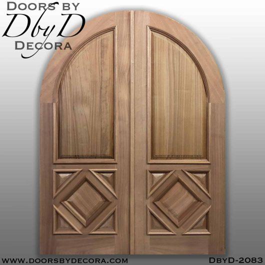 solid door custom panel doors
