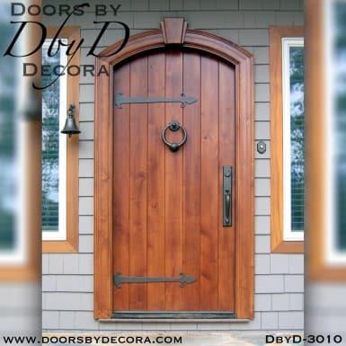 solid door plank door