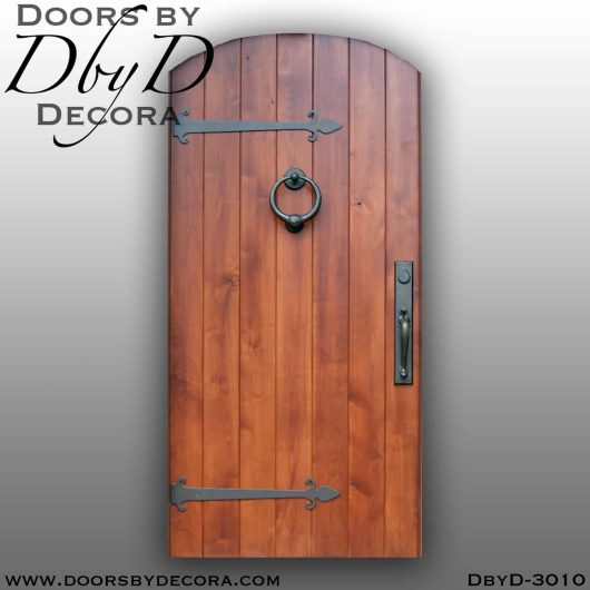 solid door plank door