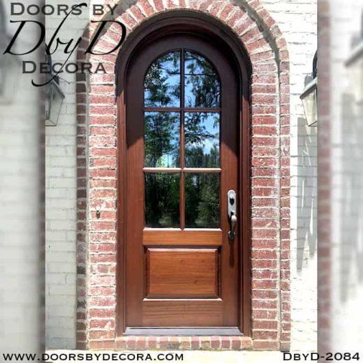 french country radius TDL door